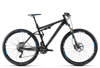 Cube AMS 120 HPA Race 29 Black Anodized Fully