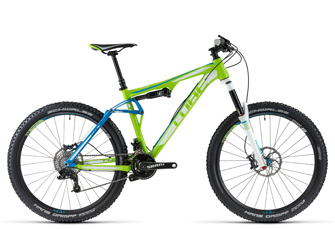 Cube AMS 150 HPA Race 27,5 Zoll Fullsuspension Bike