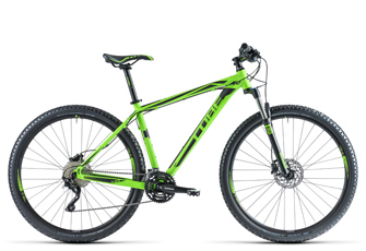 Cube Attention SL 29 Green`N`Black 2014