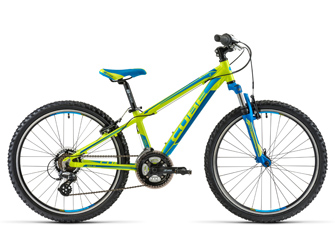 Cube Kid 240 Lime Blue Modell 2014
