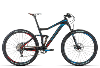 Cube Stereo 120 Mountainbike Fullys 2014